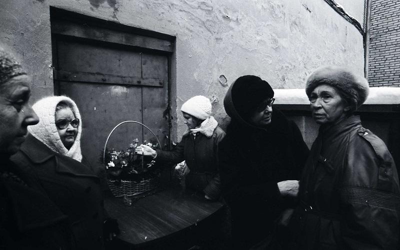 Октябрь 1993 г. Вход в расстрельную камеру. Фотография из фонда Центра историко-культурного наследия Челябинска