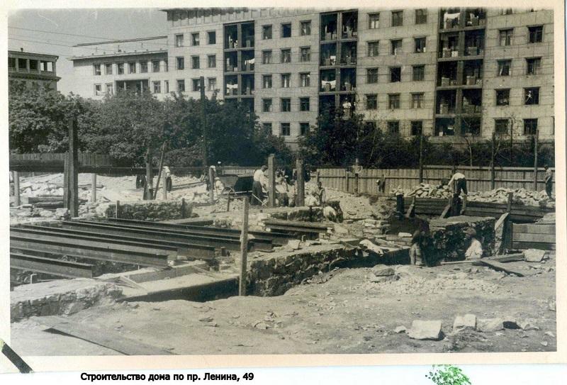 Конец 1940-х гг. Фото из фонда Центра историко-культурного наследия Челябинска