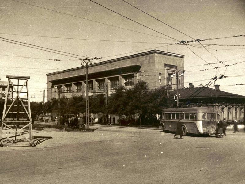 1948 год. Источник: Челябинский трамвай. Челябинский троллейбус.  Челябинск: Элефант, 2013