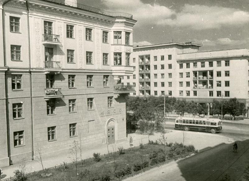 1950-е годы. Фото из группы «Челябинская старина» (Социальная сеть «Одноклассники»)