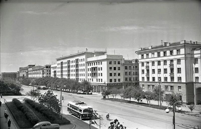 1957 год. Фотография из альбома группы «Челябинская старина»  (социальная сеть «Одноклассники»)