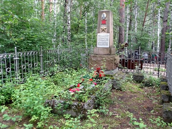 2017 год. Могила Старкова на Митрофановском кладбище. Фото Ю. Латышева