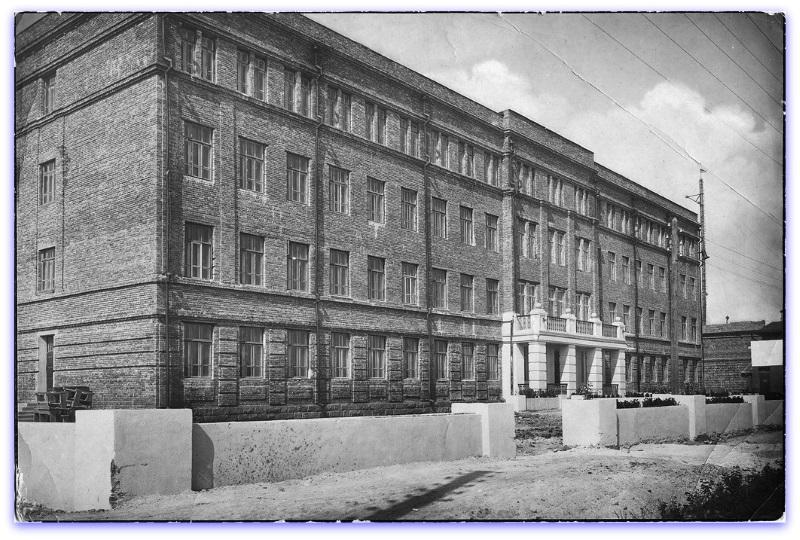 1950-е годы. Здание школы №23. Фотография из фонда Государственного исторического музея Южного Урала