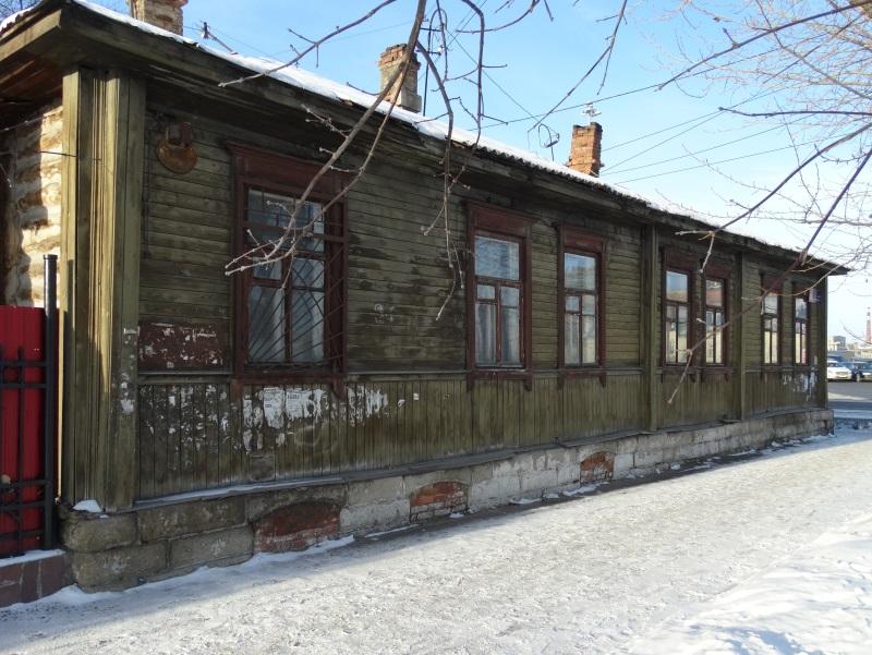 Восточный фасад бывшего дома Культина. 2014 год. Фото: Ю. Латышев
